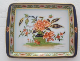 """Daher Decorated Ware Tin Tray 7.75"""" x 6"""" Floral & Pitcher Design - $7.91"""