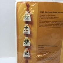 "Kitchen Spice Sacks Embroidery Kit Creative Circle #1925 3"" x 4""  - $9.74"