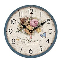 "George Jimmy 10"" Retro Rural Style Wall Clock Silence Decent Decor Hangi... - $37.21"