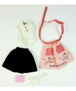 Vintage Barbie Doll Baby Sits Outfit and Accessories 6 Pc. Lot, CLEAN, NICE - $48.37