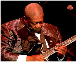 Bb King Signed Autographed 8X10 Photo w/ Certificate Of Authenticity 933 - $70.00