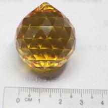1 pieces Swarovski Crystal  8558 30mm DROP BALL PENDANT CRYSTAL - Topaz - $16.70