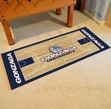 "Fanmats NCAA Gonzaga Bulldogs Court Runner Mat Area Rug Large 30"" x 72"" - $54.44"