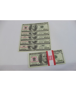 5pc fake money for props - Full Print Prop Money for sale - $1.49