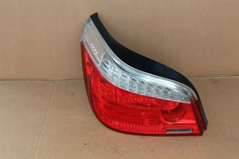 08-10 Bmw E60 LCI Sedan 525i 530i 545i Taillight Tail Light Lamp Driver Left LH image 1