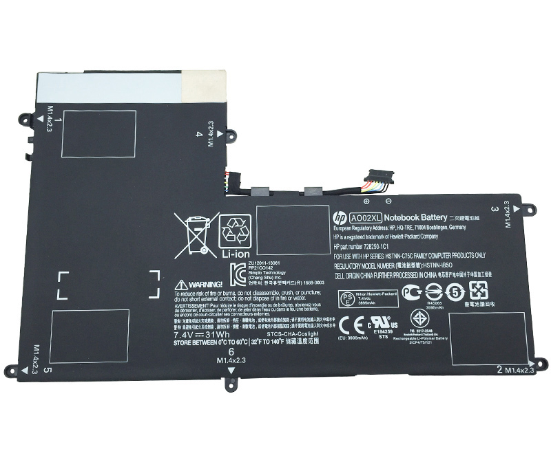 Primary image for HP ElitePad 1000 G2 J0F36PA Battery 728558-005 AO02XL HSTNN-IB5O HSTNN-LB5O