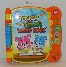 VTech Touch and Teach Word Book kids toddler Educational Interactive Toy - $14.03