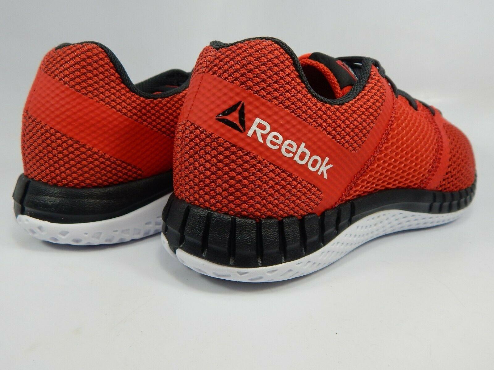 Reebok Zsprint Size 5 Y EU 36.5 Boy's / Girl's Running Athletic Shoes Red Q23501