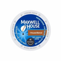 Maxwell House House Blend Coffee, 72 count Keurig K cups FREE SHIPPING - $52.99