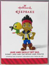 JAKE & SKULLY SET SAIL 2014 Hallmark Christmas Ornament NIB Disney Pirates - $9.50