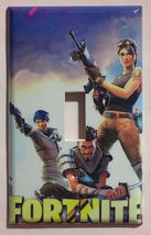 Fortnite Games Light Switch Power Outlet wall Cover Plate Home Decor image 4