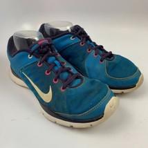 Nike 10 US / 7.5 UK / 42 EU  Women Athletic Running Shoes Blue   Flex Tr... - $24.72