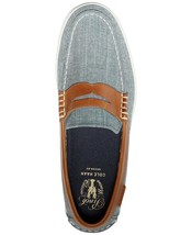 Cole Haan Men's Pinch Weekender Loafers Blue Chambaray Canvas - $40.00