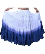 Dip Dye Style 25 Yard Cotton Tribal Skirts North American Salsa Fusion - $39.98