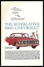 Chevrolet Bel Air 2 dr Sedan Red Chevy 1960 Photo Ad - $14.99