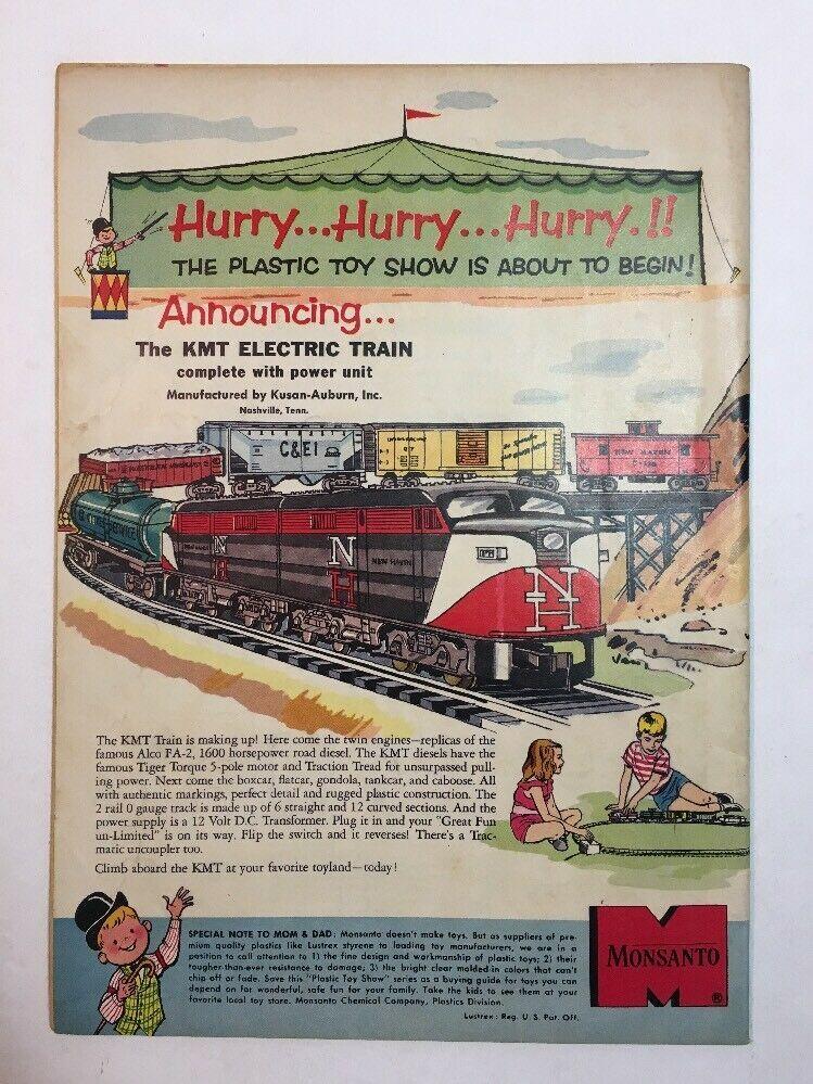 TOM & JERRY COMICS #162 JANUARY 1958 DELL COMICS TOM AS COWBOY COVER
