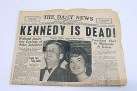 ORIGINAL Vintage Nov 22 1963 Death of JFK McKeesport PA Daily News Newsp... - $148.49