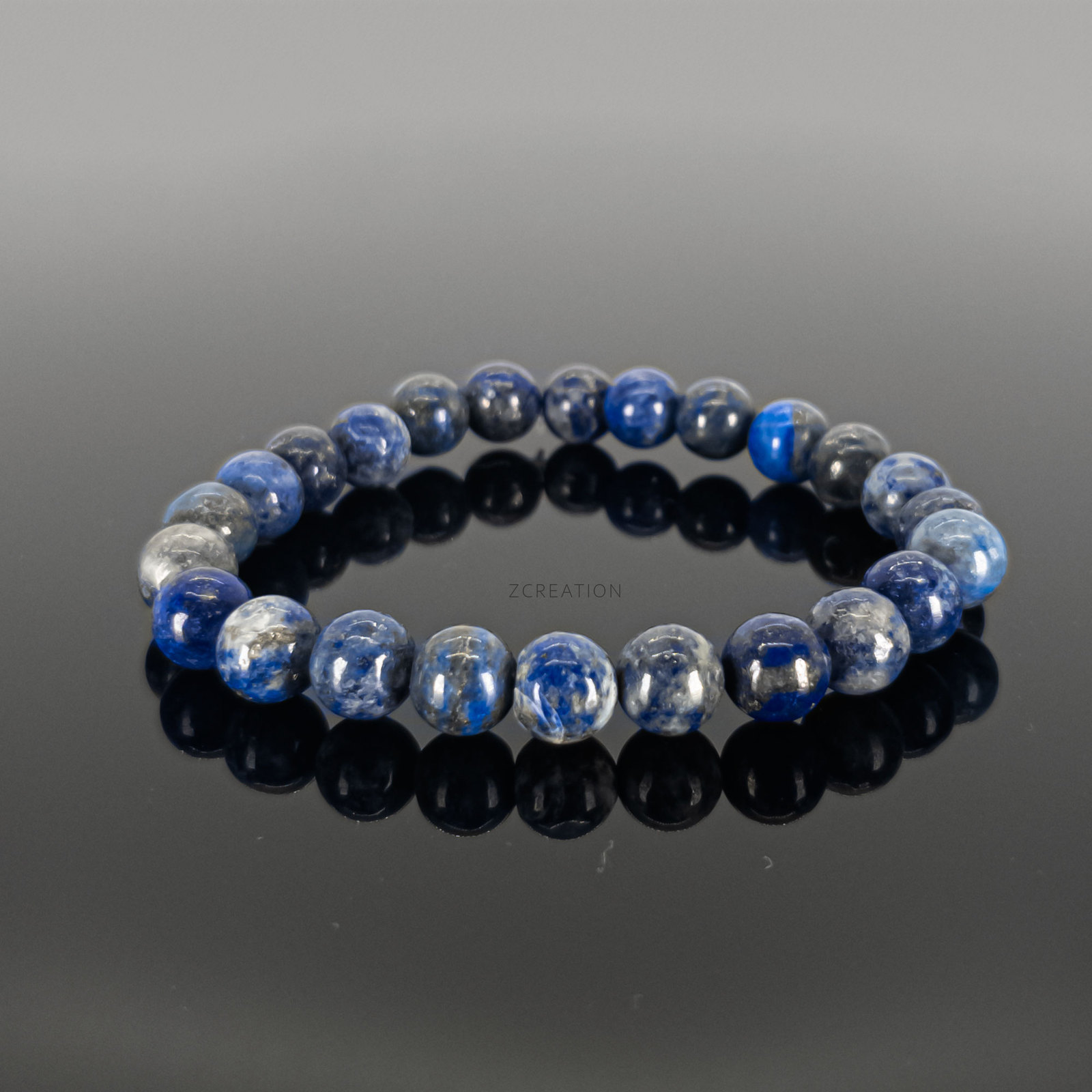 Primary image for Lapis Round Bead Stretchable Bracelets