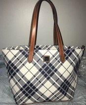 DOONEY & BOURKE Ladies Handbag Harding Large Shopper Navy NEW $228 - $151.68