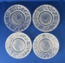 Westmoreland Princess Feather Plates, Dessert Luncheon, Line 201, c. 192... - $28.00