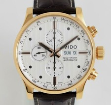 MIDO multi Fort Chronograph Mens Watch with Guaranty card - $1,289.96