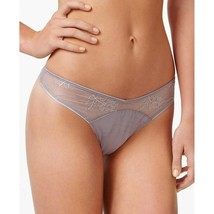 Calvin Klein CK Black Daring Thong Sheer Lace QF1616 Black or Silver Grey NWT image 1