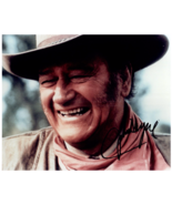 JOHN WAYNE Authentic Signed Autographed 8x10 Photo w/ COA - $375.00