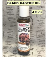 AFRICAN ANGEL BLACK CASTOR OIL WITH 100% PURE WITH VITAMIN E, PANTHENOL ... - $6.92