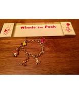 VTG Disney Winnie The Pooh Charm Bracelet Original Box Pooh Characters M... - $494.99