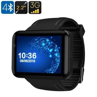 The dm98 smart watch phone black