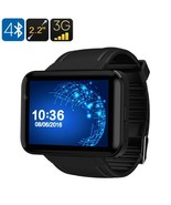 DM98 Watch Phone, Android, Bluetooth 4.0, WiFi, Black - $149.99