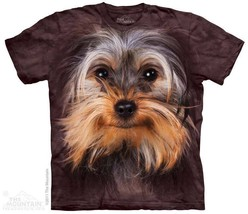 New BIG YORKSHIRE TERRIER FACE T SHIRT - $18.95+