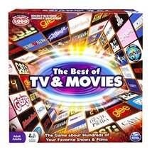 Spin Master Games: Best of TV and Movies Board Game - Test Your Knowledge of 100 - $17.98