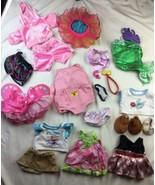 LOT Build a Bear Workshop Plush CLOTHES Girl Dress SHOES Princess Gown B... - $28.04