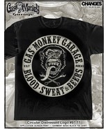 Gas Monkey Garage Circolare Blood Sweat Beers Fast Loud Dallas Texas Mag... - $18.62+