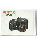 Pentax P50 Vintage SLR Camera Manual Instruction Book - $9.74