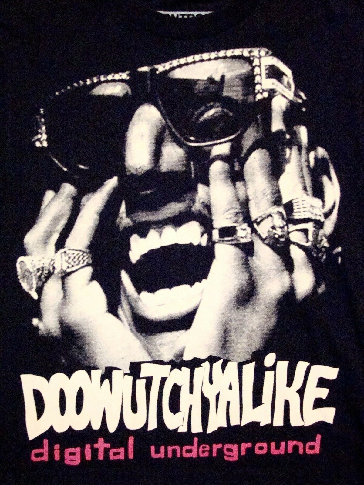 Primary image for Doowutchyalike Digital Underground Do What You Like 90s Rap Hip Hop T Shirt XS/S