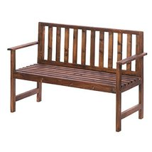 Home Locomotion Garden Grove Wood Bench - £123.60 GBP