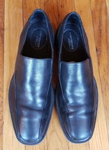 Bostonian Duralite Slip-on Dress Shoes Loafers Black Leather Size 9M, Men's - $29.47