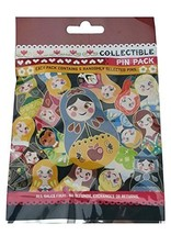 Disney Nesting Dolls 5 Pin Collectible Packs NEW - $32.65