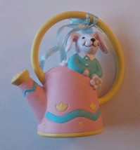 Avon The Gift Collection Busy Bunny Easter Ornament Bunny with Watering Can - $7.69