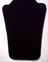 12.7cm Velours Noir Collier Bijoux Display Stand Pendentif Bolo Bracelet... - $3.47