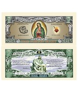 Virgin Mary Mother of God Collectible Bill In Protective Holder - $3.04