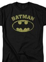 Batman DC Comics Superhero Distressed Batman Logo Graphic T-shirt BM2584 image 3