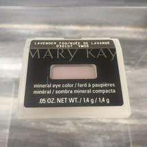 Nib Mary Kay Mineral Eye Color Eyeshadow Lavender Fog Discontinued Free Ship! - $9.85