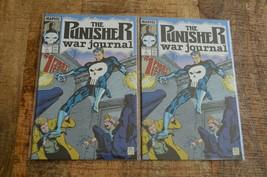 Punisher War Journal #1 (2 Copies) (Marvel, 1988) NM+ Comic Books Lot of 2 - $29.02