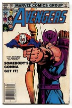 Avengers #223 comic 1982  2nd Taskmaster Civil War - Hawkeye- Ant Man - $25.22
