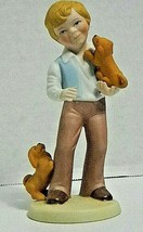 "AVON Porcelain Figurines ""Best Friend""  1981 Handcrafted - $6.79"
