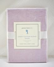 Linen Cotton Blend Pink Pillow Sham by Pottery Barn Kids - Standard Size NEW - $14.20