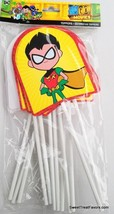 TEEN TITANS GO MOVIE Party Favors Bag TOPPERS Supplies Treats Goody Cand... - $7.87